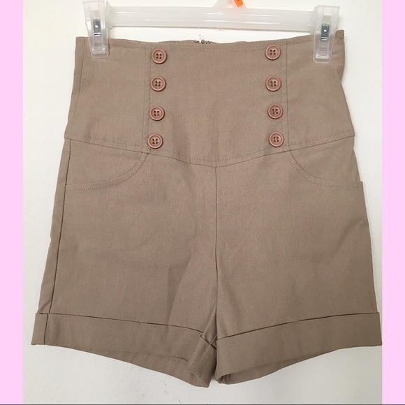 Pants - Dazz/High Waisted Shorts/ Fit beautifully